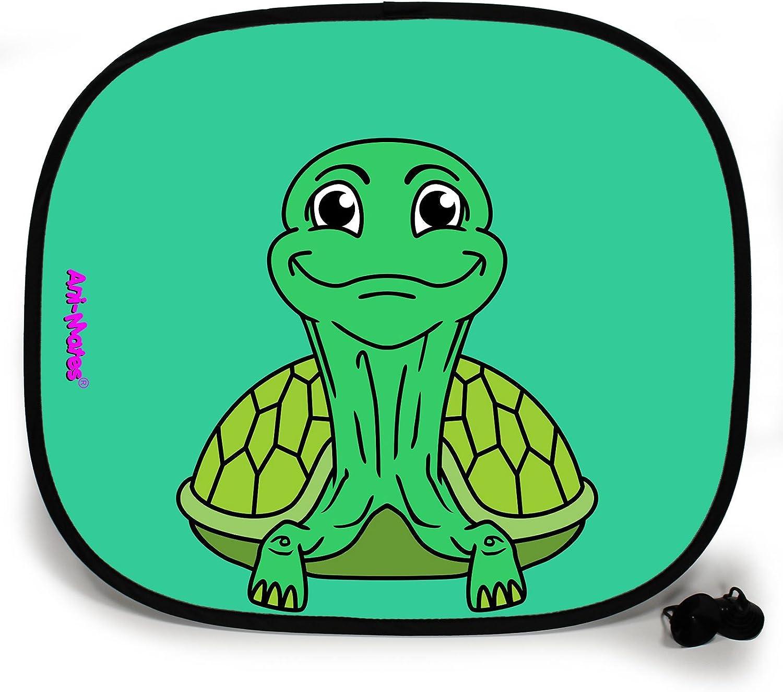 Tortoise Plain Baby//Child Vehicle Car Sunshade x 1