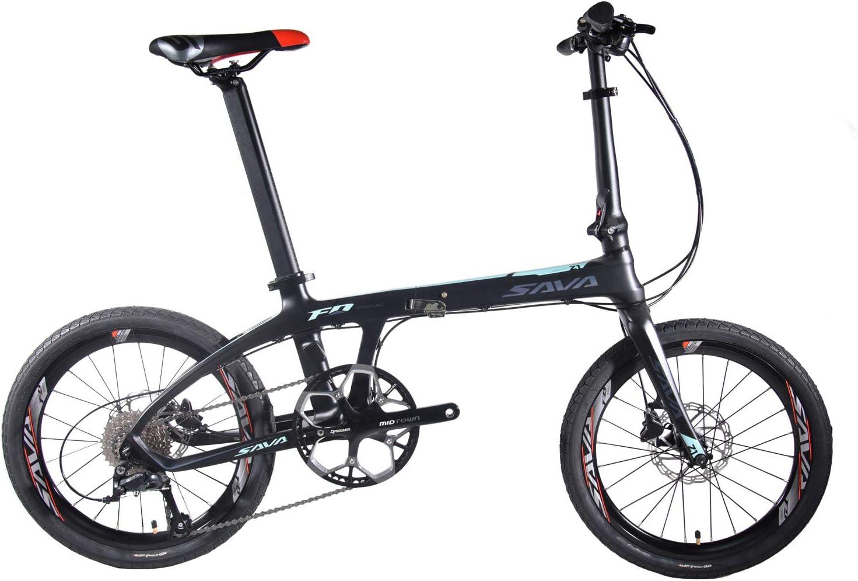 SAVADECK Carbon Fiber Portable Folding Bikes