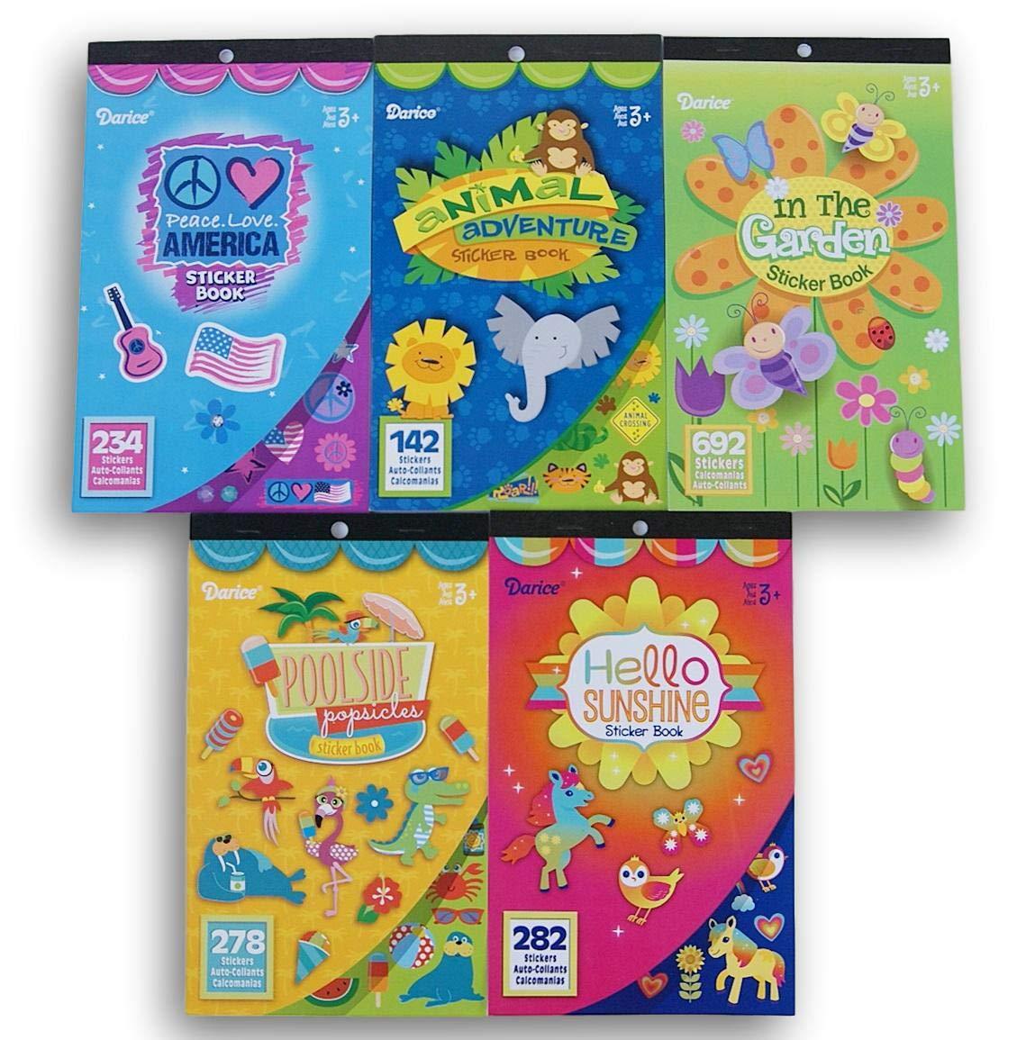 Poolside Pops Sticker Book Set of 2