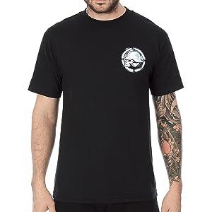 Metal Mulisha Mens Haze Short-Sleeve Shirt X-Large Black
