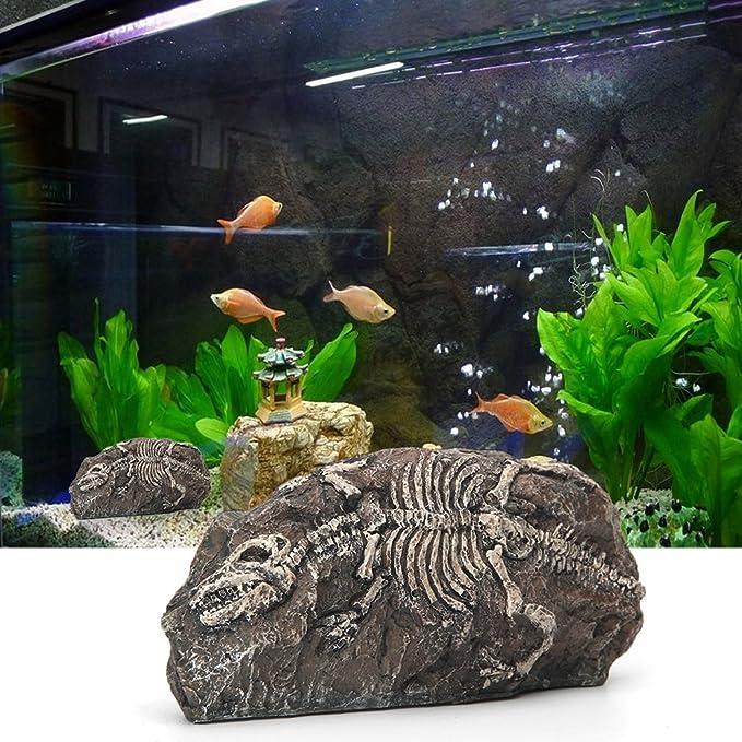 Amazon.com : Tyjie Aquarium Landscaping Pirate Skull Bubble Bag : Pet Supplies