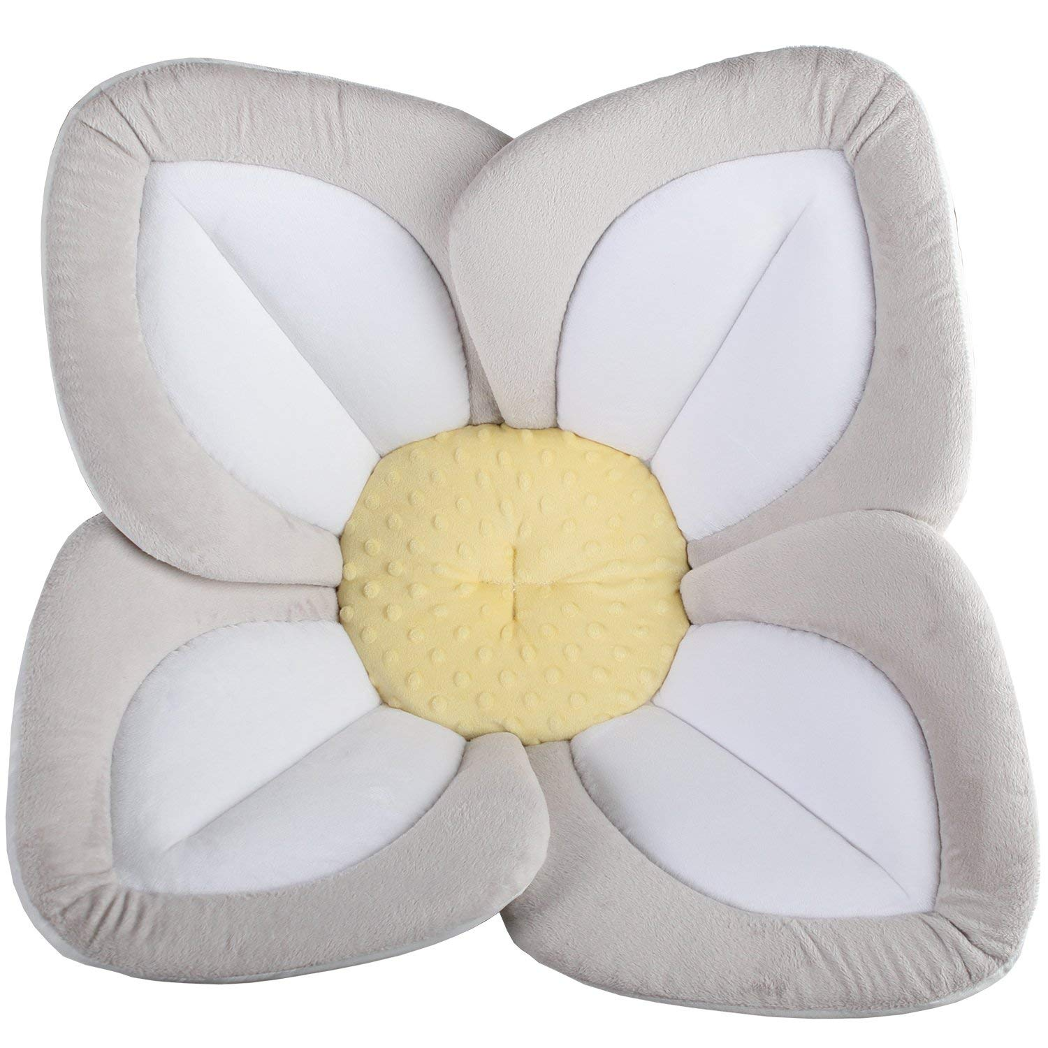 Blooming Bath Lotus - Baby Bath (Gray/Light Yellow) by Blooming Bath
