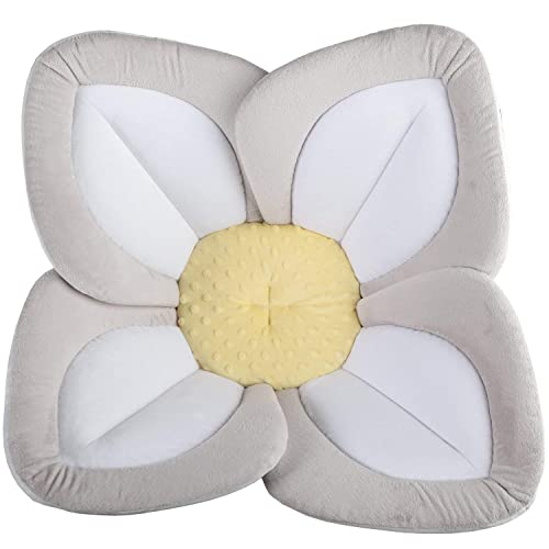 Blooming Bath Lotus Baby Bath white with yellow centre