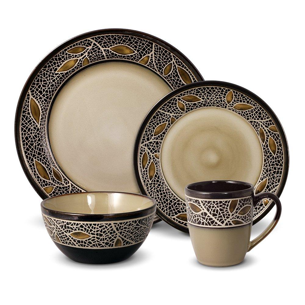 Gourmet Basics Alexandria Dinnerware Set (16 Piece)