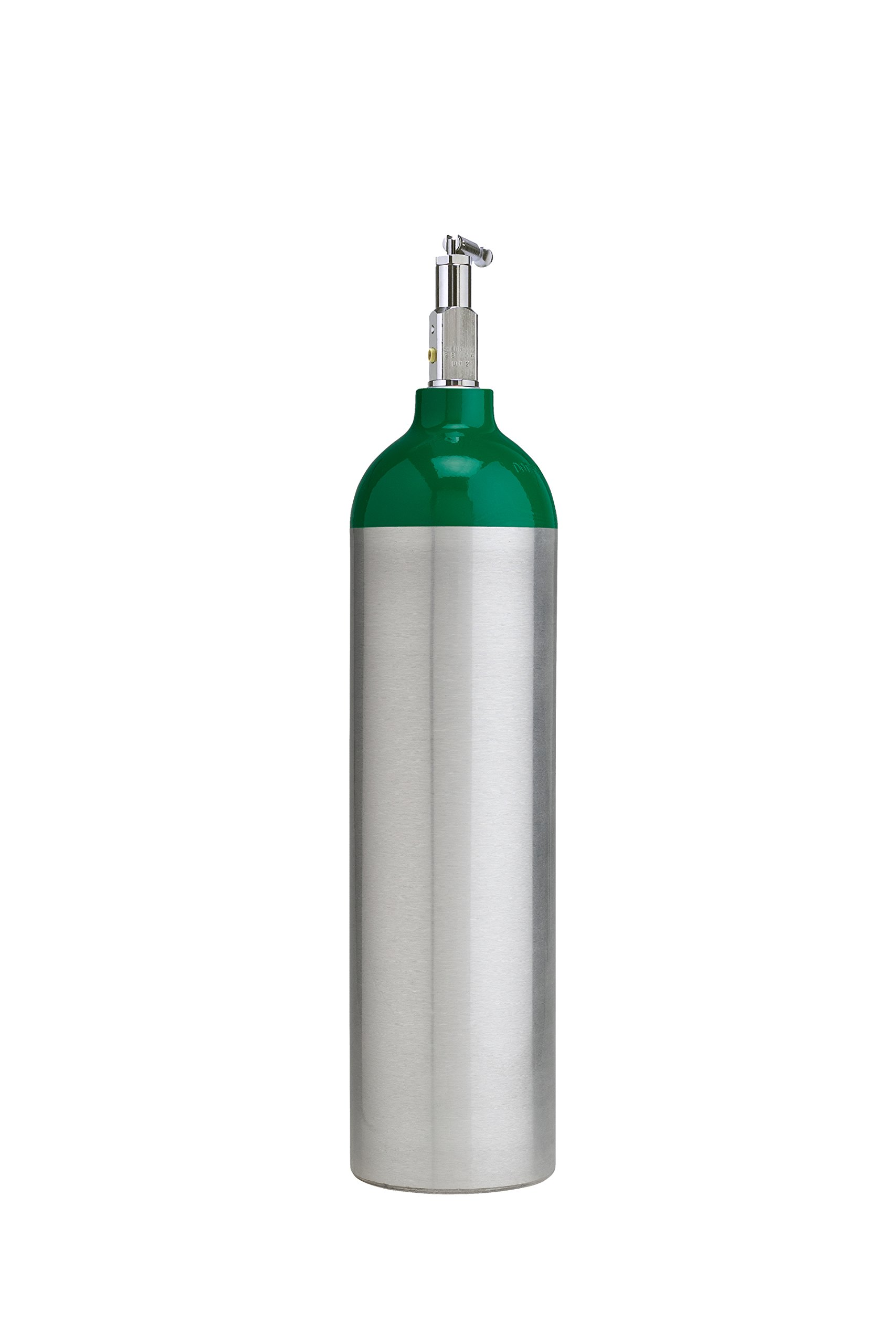 Cyl-Tec Medical D Oxygen Cylinder with CGA 870 Toggle Valve