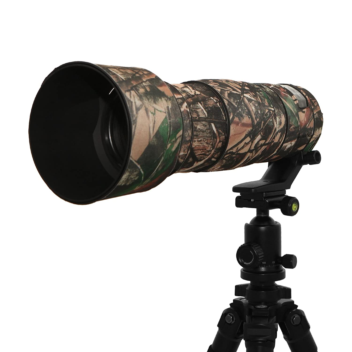 Mekingstudio 150-600mm Sports Professional Rubber Camera Lens Protective Cover Camo Waterproof for Sigma 150-600mm S For 150-600mm Sigma