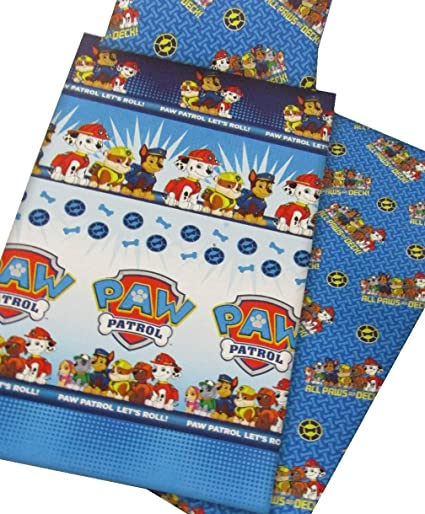 Lenzuola Paw Patrol.Nickelodeon Set Lenzuola Paw Patrol Let S Roll Per Letto