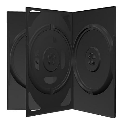 """16 opinioni per """"5 custodie per cd e dvd Mediarange triple a 3 posti, 14mm come film e"""