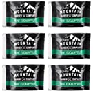 Shower Steamer - Bath Bomb For Your Shower - Jumbo Vaporizing Fizzing Tablets for Aromatherapy - 6 Pack - Made in Canada with Mint & Eucalyptus Essential Oil - By Rocky Mountain Barber Company