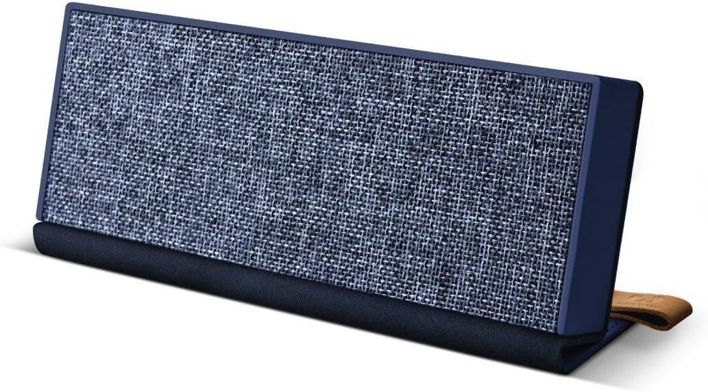 Fresh N Rebel Rockbox Fold Fabriq Edition Tragbarer Kabelloser Lautsprecher Mit Bluetooth 4 0 Inklusive Micro Usb Ladekabel Farbe Indigo Audio Hifi