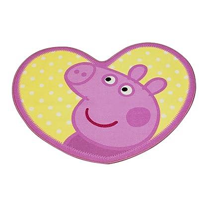 Fantastic Girls Kids Peppa Pig Bedroom Floor Rug Mat 84Cm X 67Cm Pink Interior Design Ideas Tzicisoteloinfo