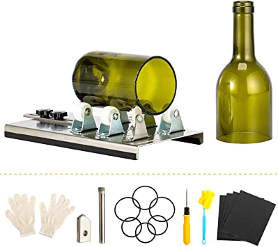 Wine Bottles and Beer Fixm Square /& Round Cutting Machine Glass Bottle Cutter