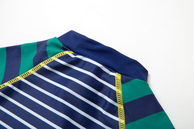 Badeanzug MIT Einem Rei/ßverschluss Bonverano Baby Junge EIN st/ück Kurz/ärmel-Kleidung UV-Schutz 50