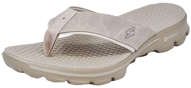 Go Walk Flip Flop, Tan