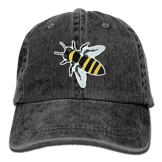 Amazon.com  Danlive Baseball Cap Honey Bee - Adjustable Trucker Hat ... 2e46ab5331f