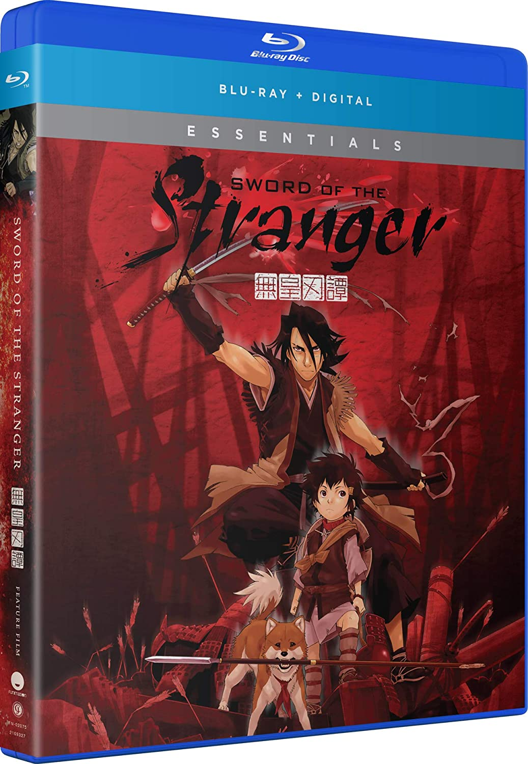 Sword of the Stranger Essentials Blu-ray (Dual Audio)