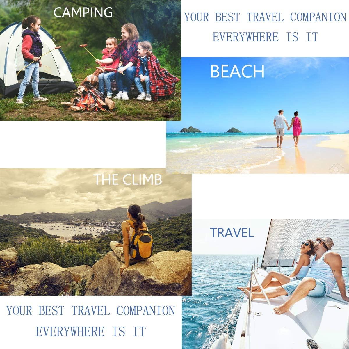 Esterilla Camping Ultraligera Colchon Acampada Dise/ño /único de Hebilla y Compresi/ón Inflado r/ápido para Viajes Senderismo Camping Playa Esterillas Inflable