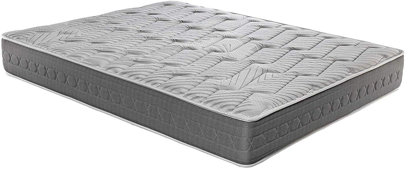 ROYAL SLEEP Matelas en Carbone visco/élastique 105x190 Haute fermet/é Effet r/ég/én/érant Haut de Gamme Hauteur 25cm Matelas Ceramic Plus