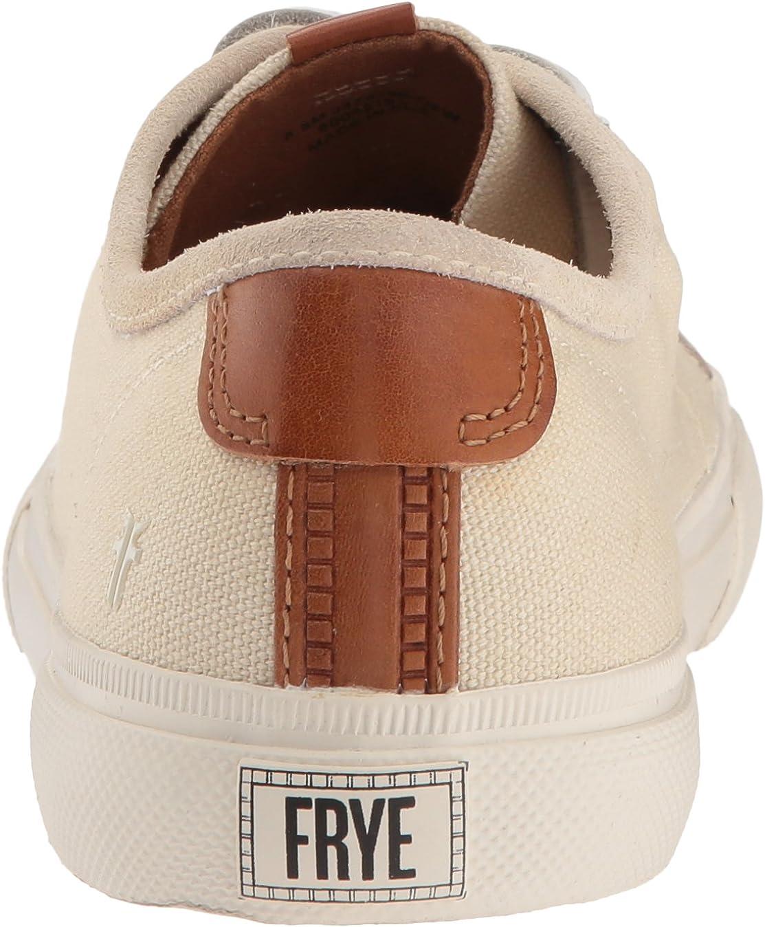 Frye Womens Gia Canvas Low Lace Sneaker