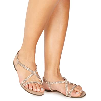 Faith Wide Fit WIDE FIT JEATON - Sandals - rose iczVq