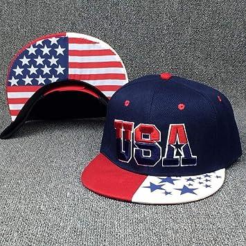 YPORE Nueva Bandera Americana Snapback Sombreros Marca EE.UU ...