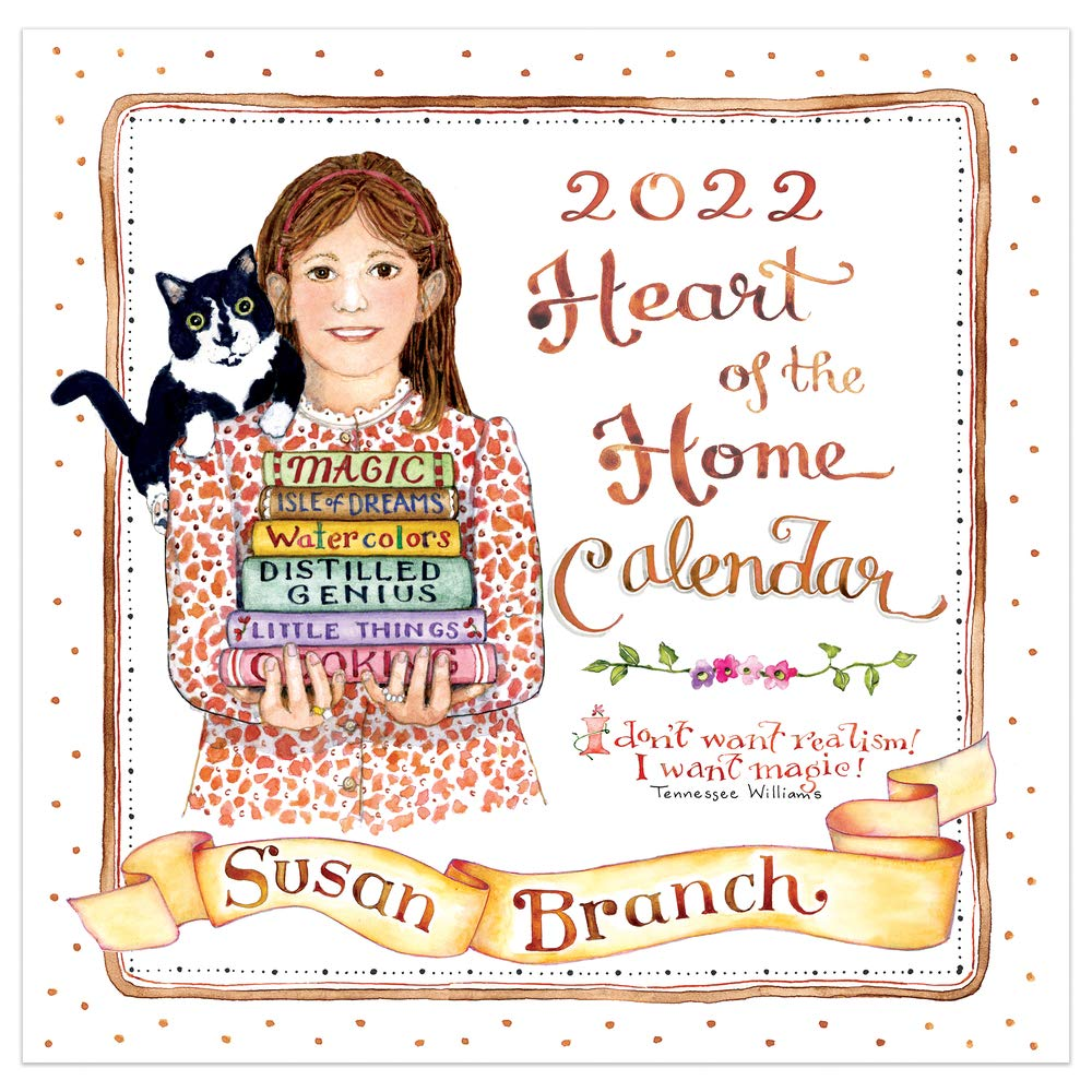 Image for Cal 2022- Susan Branch (Heart of the Home) Wall