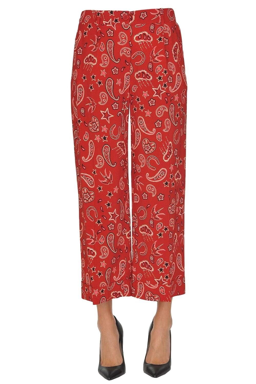 Seventy Women's MCGLPNP000005060E Red Viscose Pants