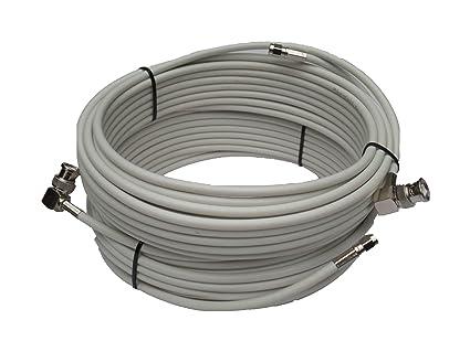 Alta calidad de baja pérdida 10 m TWIN de cable en ...