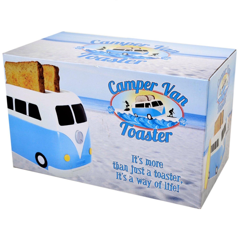 Home, Furniture & DIY Blue VW Campervan 2 Slice Toaster