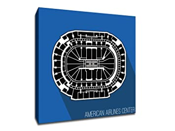 Amazon Com Dallas American Airlines Center Basketball Seating