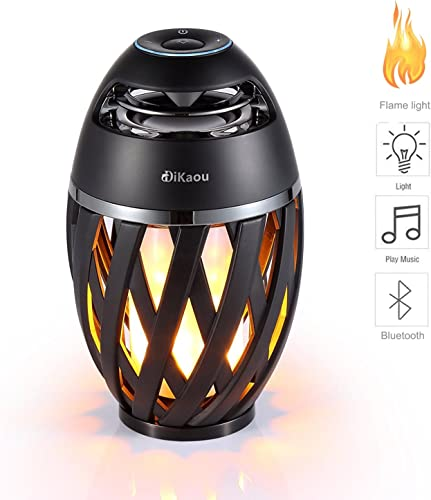 DIKAOU Led flame table lamp