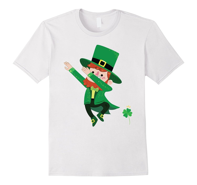 19fa44c3b Irish Dab Tee – Dabbing Leprechaun St Patricks Day Shirts-TD – Teedep