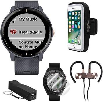 Garmin Vivoactive 3 Music GPS Smartwatch Runner Pro Bundle ...