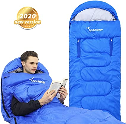 Adulte Sac De Couchage Portable Temps Froid 20 To 40 degrés Camping Sleep Sack Lit
