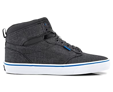 Vans Men s Atwood Hi (S17 Textile) Gray and Blue Sneakers - 7 UK India  (40.5 EU)  Buy Online at Low Prices in India - Amazon.in caa28816c