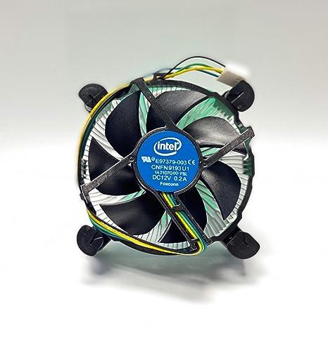 Intel i3/i5/i7 A115x CPU disipador y Ventilador E97379003: Amazon ...