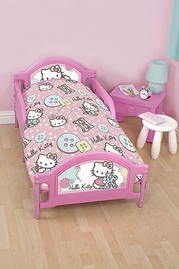 Amazon.com: Hello Kitty Junior juego de funda nórdica – 120 ...