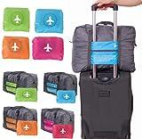mark zenis 旅行バッグ ボストンバッグ 機内用 折りたたみ スーツケースの持ち手に通せる 予備バッグ