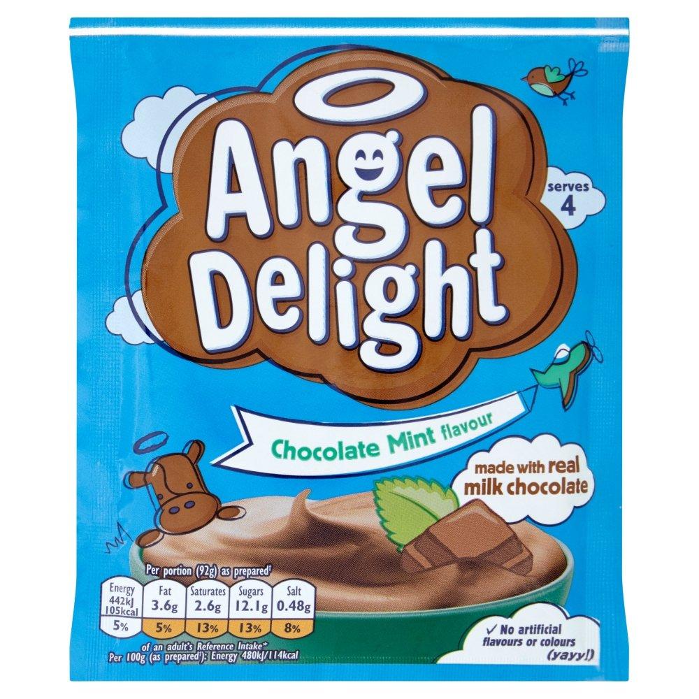 Angel Delight Chocolate Mint Flavor Sachet