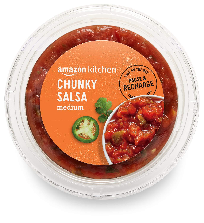 Amazon Kitchen, Chunky Salsa, Medium, 16 oz (packaging may vary)