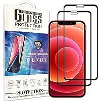 Cindy Mica para iPhone 12 Pro(6.1 Inch) Screen Protector,2-Pack Cristal Templado Protector de Pantalla para iPhone 12…