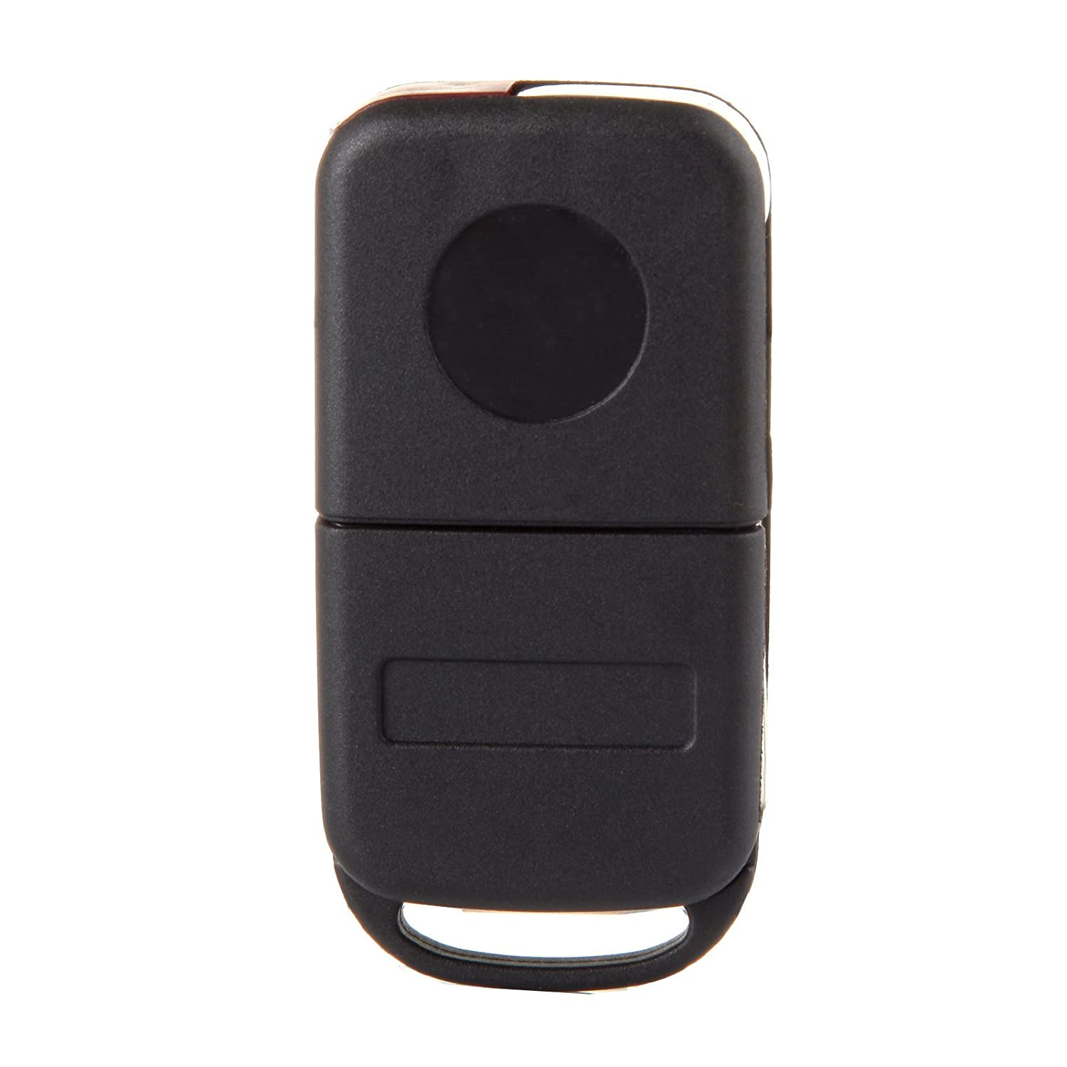 cciyu 1PC Uncut 3 Buttons Keyless Entry Remote Fob Case Replacement fit for 94-2005 Mercedes-Benz AMG ML430 S500 SL500 SL600 SLK32 SLK230 NCZMB1K