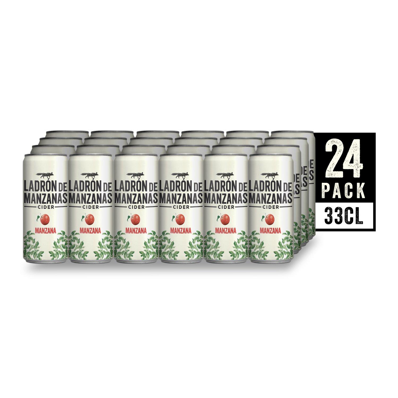 Ladrón de Manzanas Cider - Caja de 24 Latas x 330 ml - Total: 7.92 L: Amazon.es: Amazon Pantry