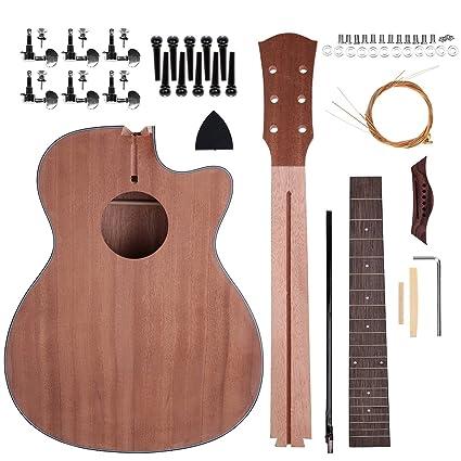 Shsyue® Kit de la Guitarra de DIY, 40 Guitarra Acústica Haga su