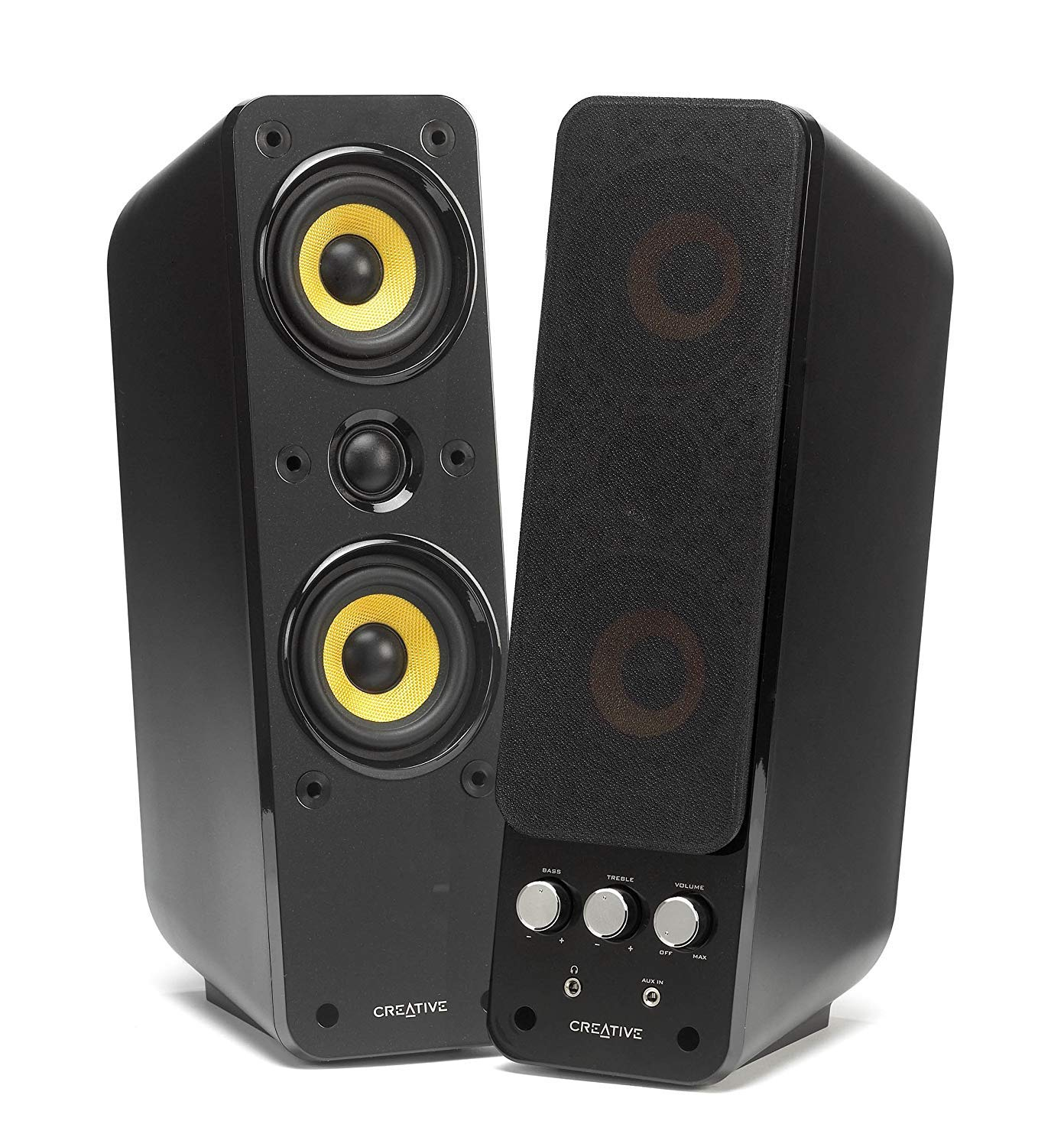 Creative Labs Gigaworks T40 Series II Altavoz 32 W Negro - Altavoces (2.0 Canales, Alámbrico, 3,5 mm, 32 W, 60-20000 Hz, Negro)