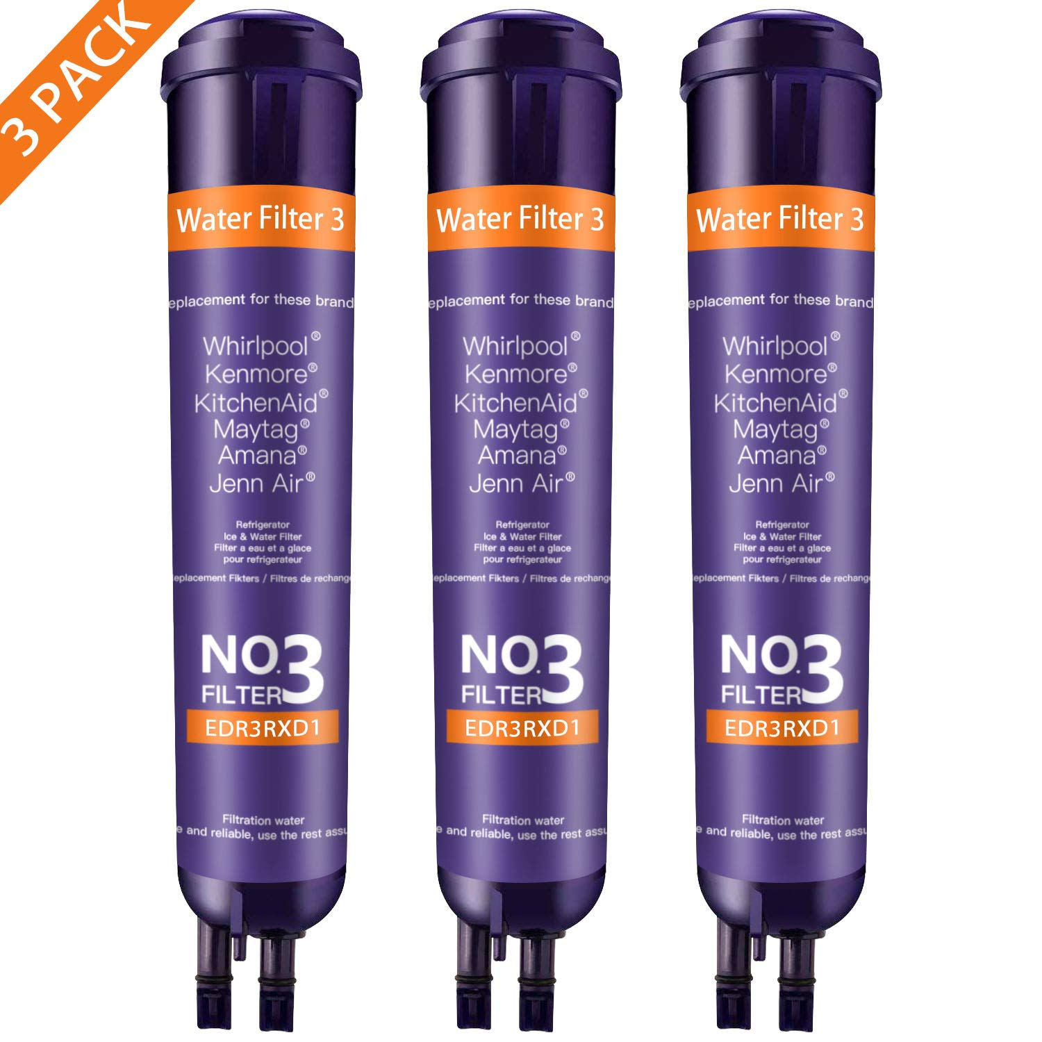 W10413645 W10413645a EDR2RXD1 els 4396841 w10413645A water filter 2