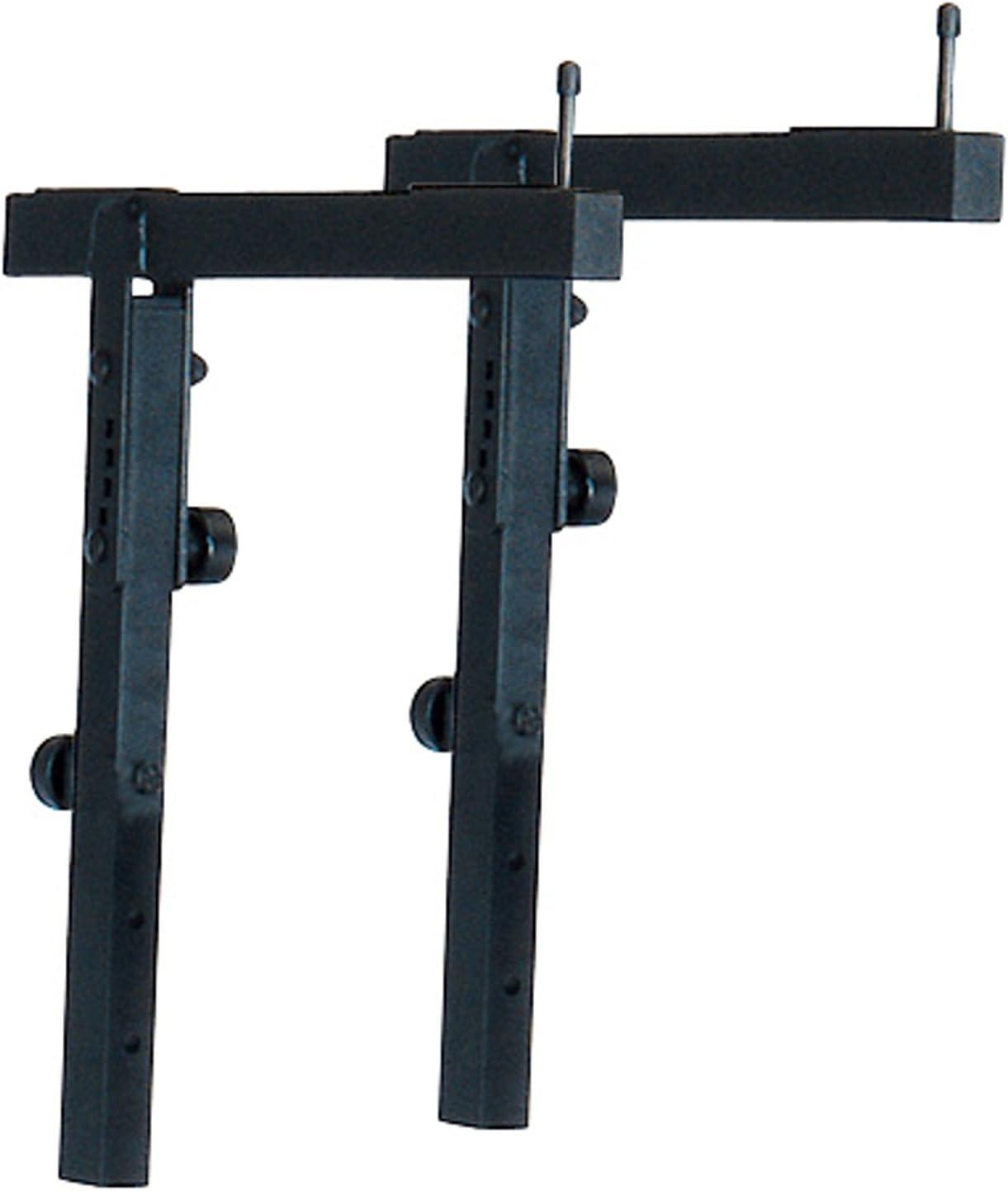 black Music Stand 18811.000.55 K /& M Stands K /& M Adjustable stacker
