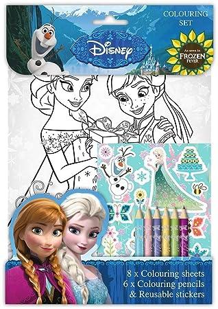 Disney Eiskonigin Anna Elsa Olaf Activity Ausmalen Packungen Aufkleber Film Tv Spielzeug Spielzeug