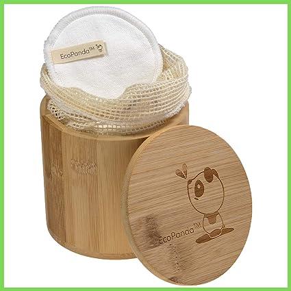 Discos Desmaquillantes Reutilizables - 18x, Algodones ...