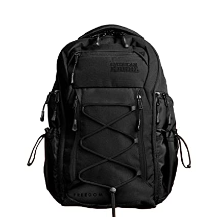 4b02a86e742d Concealed Carry Durable Laptop Backpack - Medium Black Black Freedom Bag  for Every Day Use